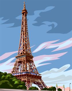 Tour Eiffel (dessin d'artiste)