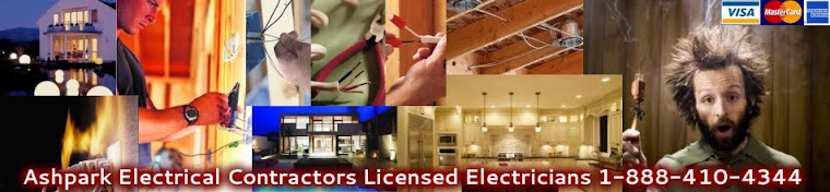 Ashpark Electrical Contractors Licensed Electricians Oakville Burlington Milton Hamilton Dundas