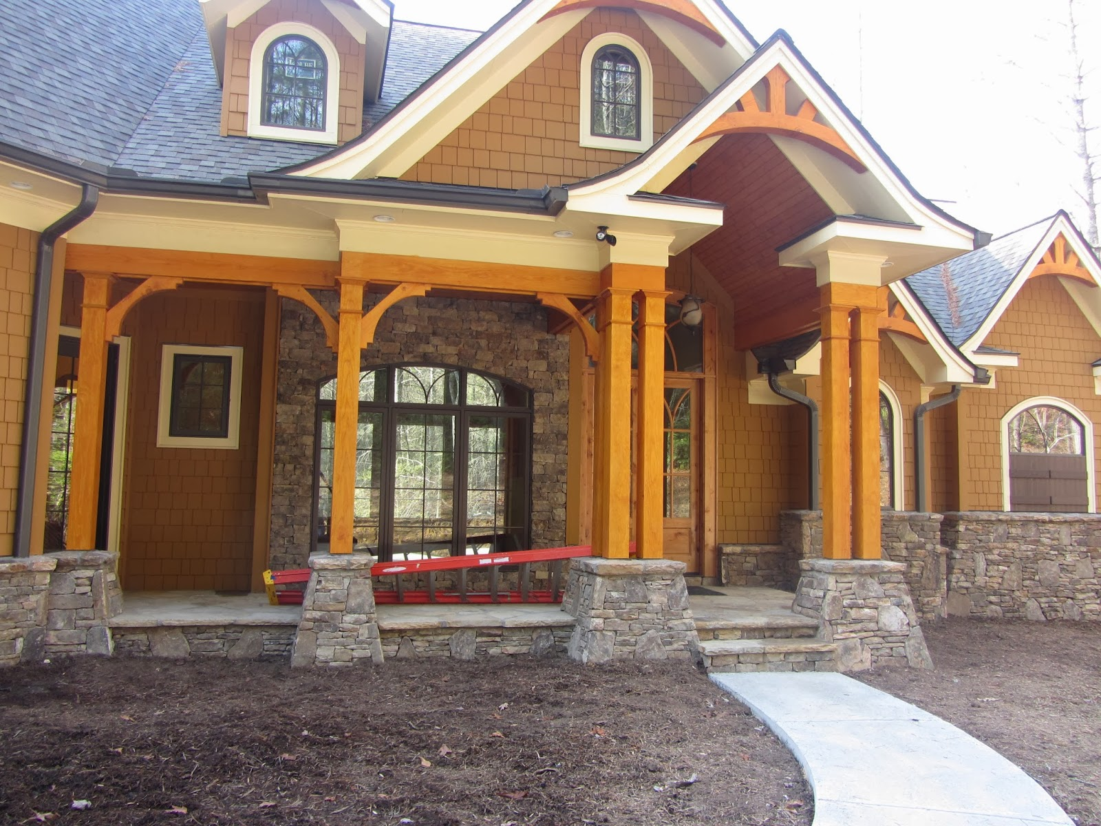 Garrell associates nantahala cottage gable for Nantahala house plan