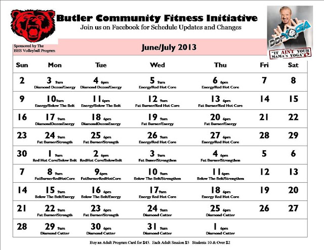 photograph about Ddp Yoga Schedule Printable identified as Ddp Yoga Calendar