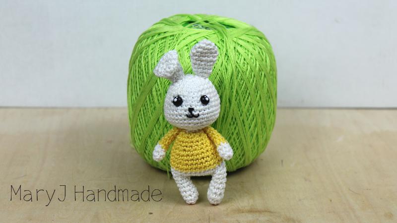 Maryj Handmade Coniglietto Amigurumi How To Crochet A Sweet Bunny