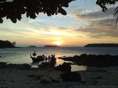 Sunset, Bon Island, Phuket