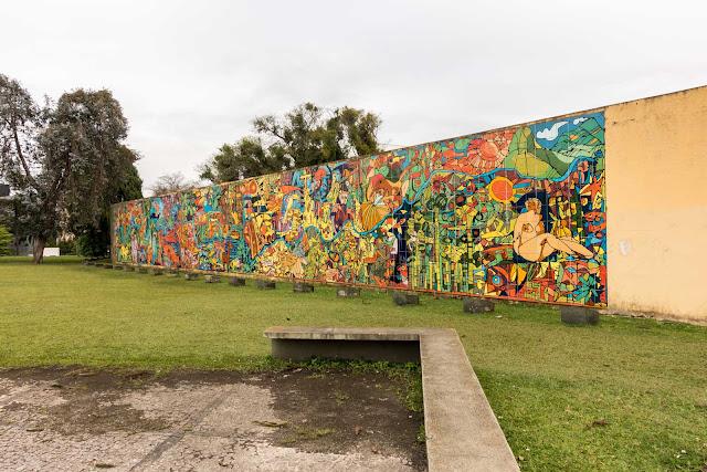 """""""Rio Iguaçu"""" - um mural de Rogério Dias"""