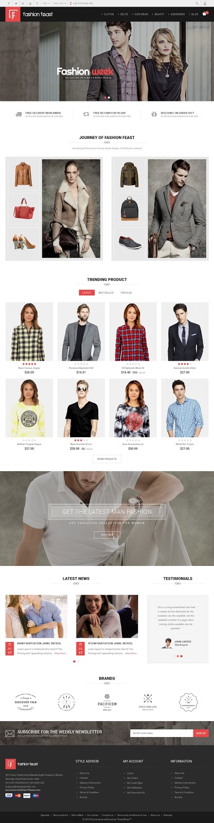 Best Prestashop Responsive Theme 2015