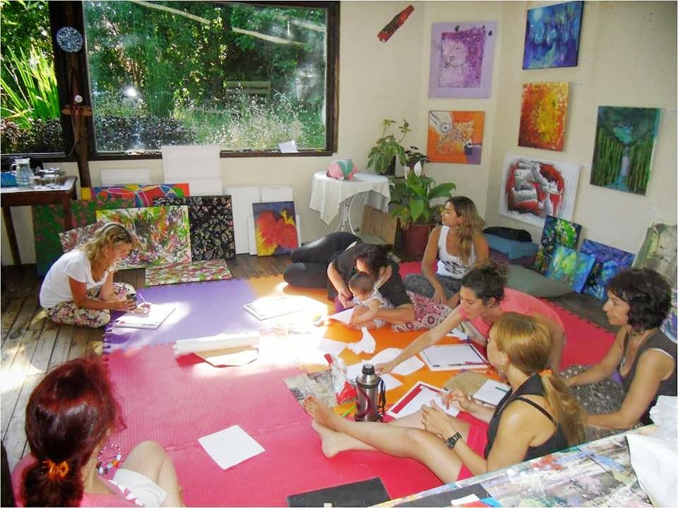 ARTE en PROCESO/ Encuentros de observación, meditación y diálogo ( individuales o grupales)