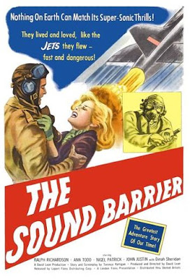 movie poster - the sound barrier, 1952