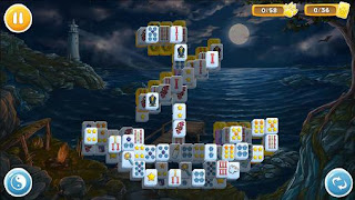 Screenshots of the Mahjong Wolf's stories for Android tablet, phone.