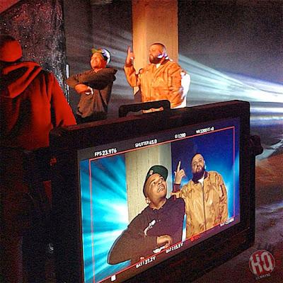 "dj khaled lil wayne future ti ace hood models bottles video shoot2 Photo Updates: Behind The Scene On Set Of DJ Khaled, Lil Wayne, Future, T.I. and Ace Hood's ""Models and Bottles"" Video Shoot"