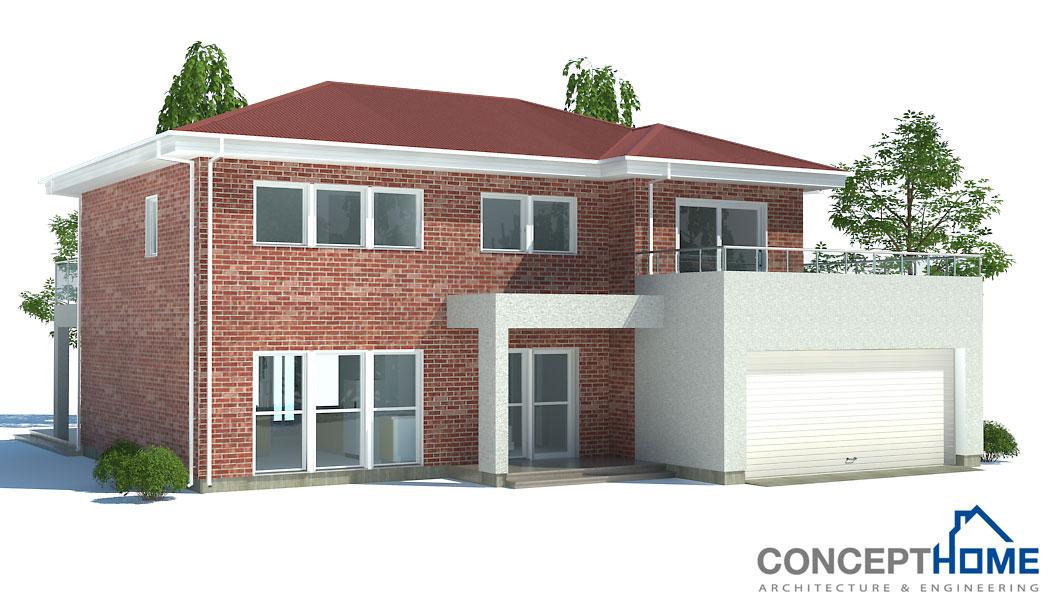 Affordable home plans economical house plan ch171 - Economical house plans ...