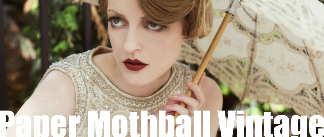 Paper Mothball Vintage