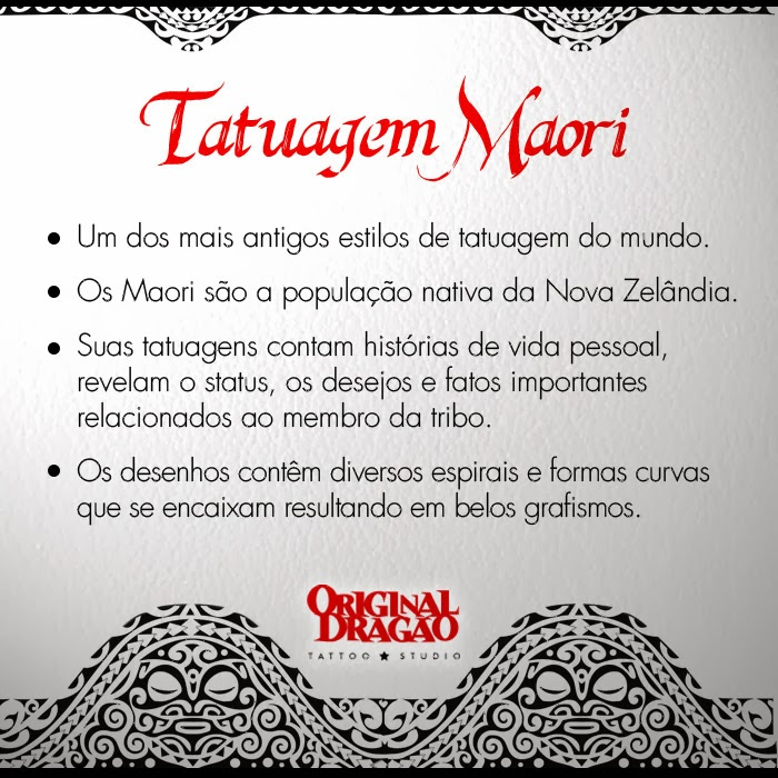 Significado Tatuagem Maori