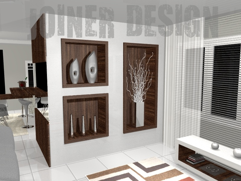 Joiner design m veis e interiores quarto feminino juvenil - Paredes decorativas interiores ...