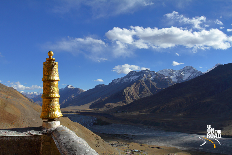Ki Monastery View, Spiti, Himachal Pradesh, India