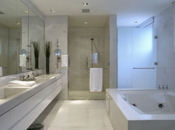 Banheiros com Banheiras! 30 Modelos maravilhosos!  Decor Salteado  Blog de  -> Banheiro Com Banheira Precisa De Chuveiro
