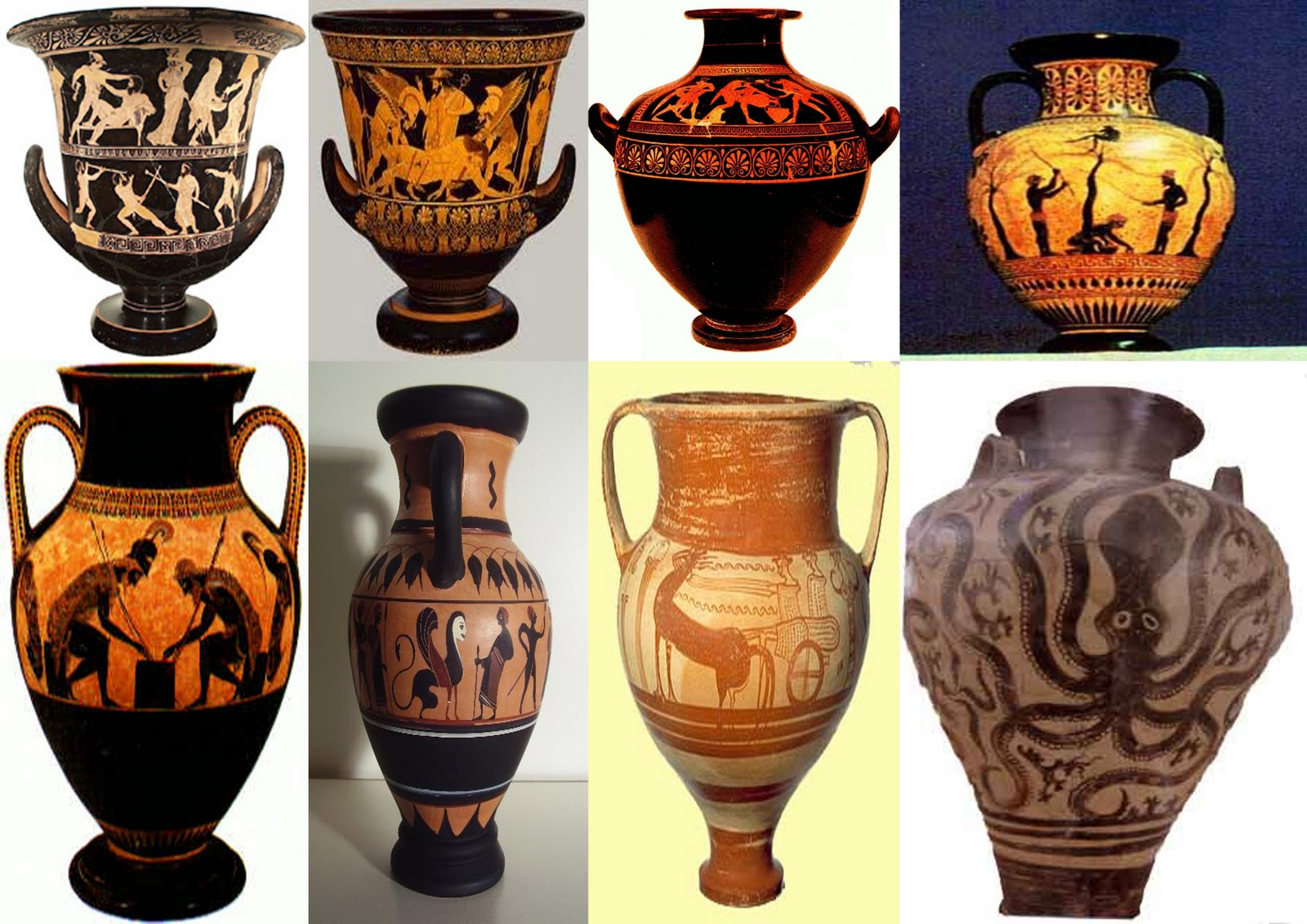 the influence of greek pottery art Greek pottery is both a major art form and a great source of information about the  ancient world here are some important points: • the greeks had recognizable.