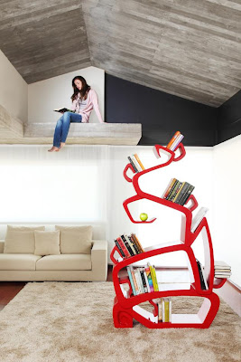 Brilliant Bookshelves and Unusual Bookcases (15) 13