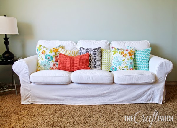 Bright And Cheery Spring/Summer Throw Pillows