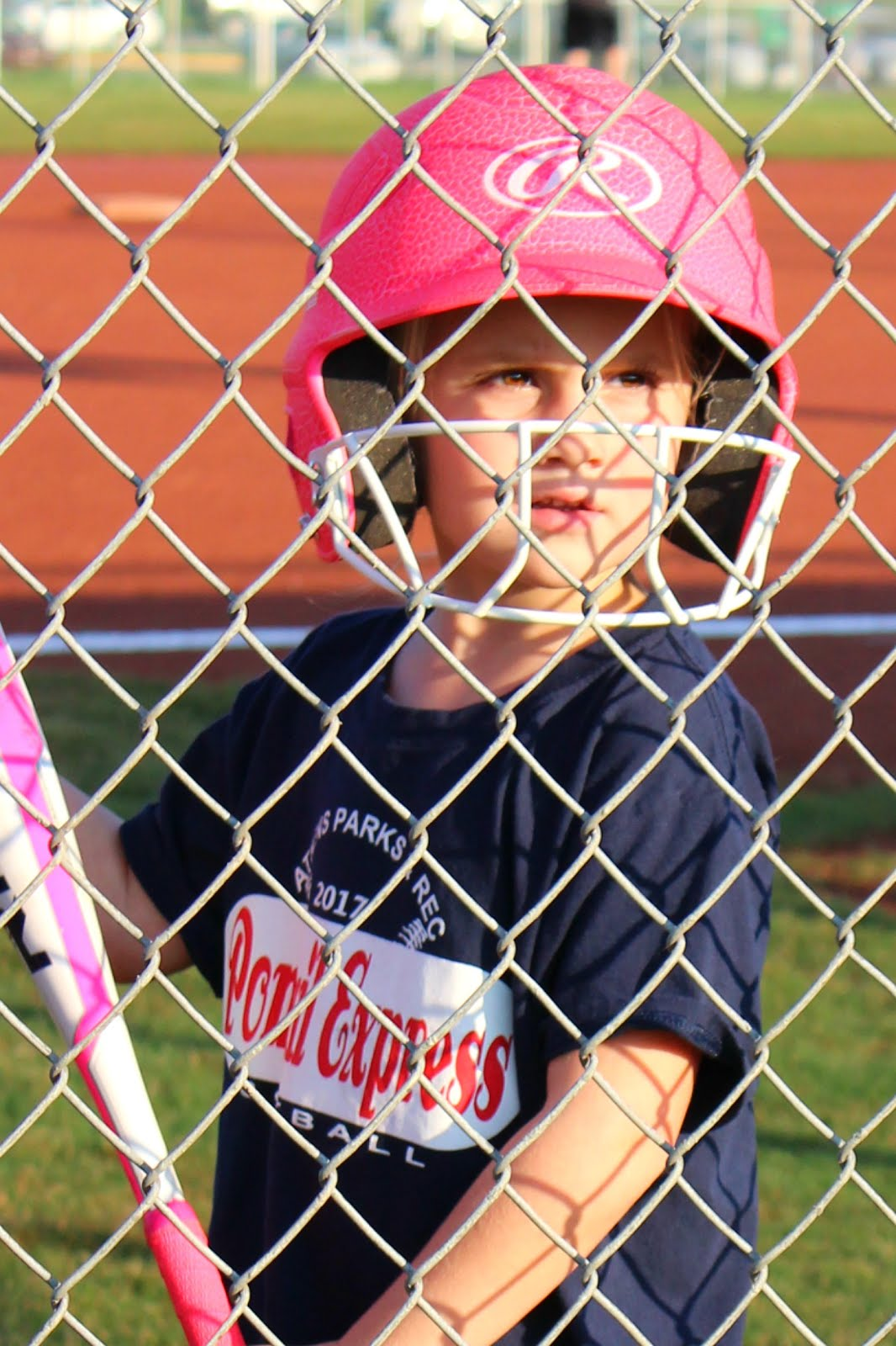 Preslie plays 1st Fall Softball