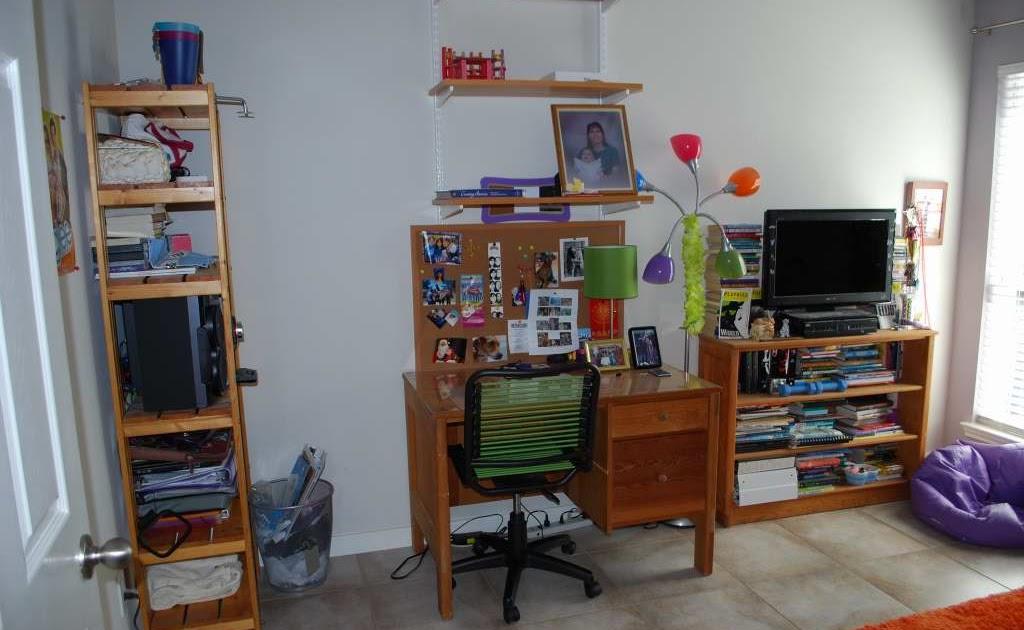 C a y l a w r a l teen workstation ikea hack from start - Camera da ragazzo ...