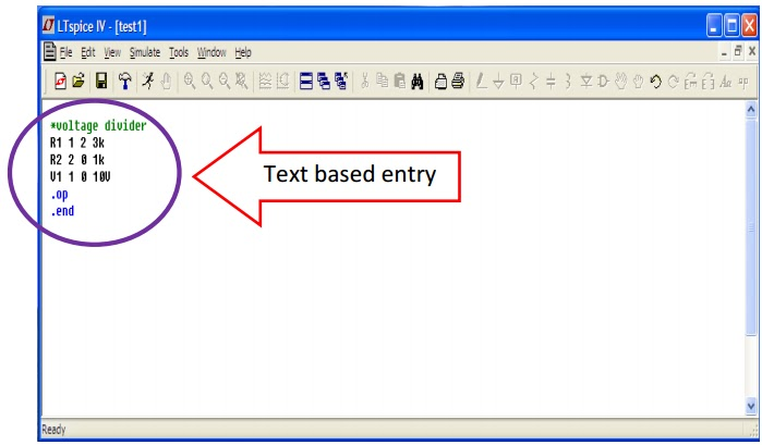 How to write netlist in pspice