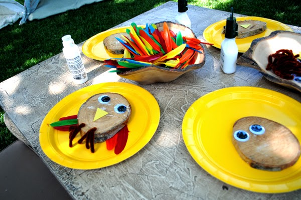Craft ideas for birthday party 5 year old