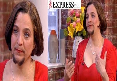 Mulher barbada assume cavanhaque e se acha linda, Confira!