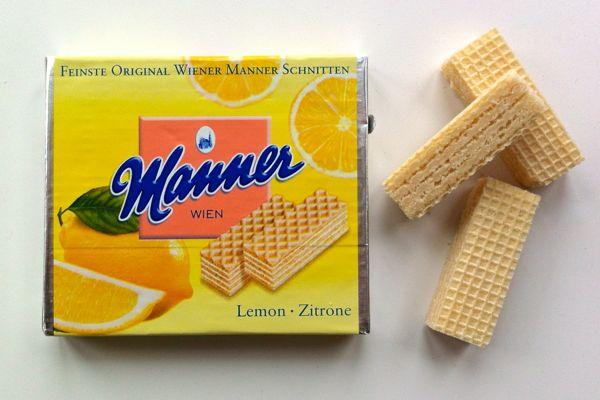 Manner Lemon Wafers suitable for vegans