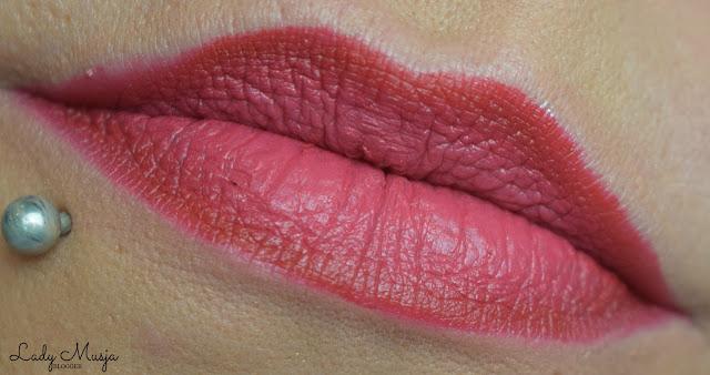 Ombre lips essence longlasting lipliner lady musja