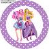 Imprimibles Barbie Princesa y Pop Star 2.