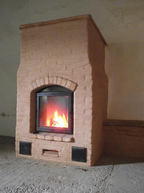 Cea taca estufas de masa t rmica la tecnolog a m s eficiente para quemar le a - Estufa lena pequena ...