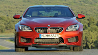 The new BMW M6 Coupe front