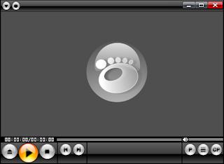 Gom media Player Home screen shot