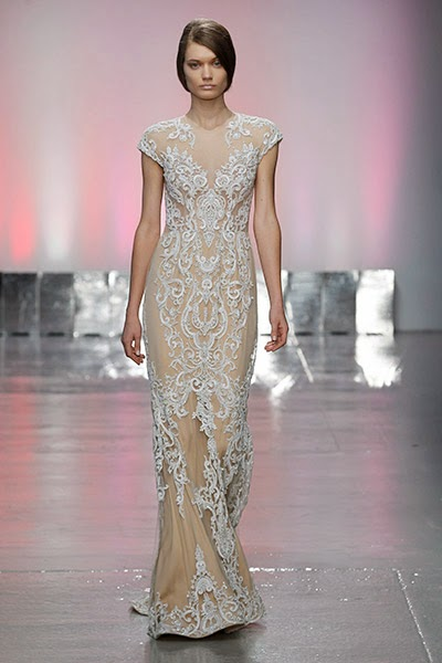 The High Neckline Look Is Classy And Elegant Has Been Making Appearances On Runway Which Definitely Impacted Bridal Gown Designers Greatly