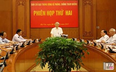 Tổng Bí thư Nguyễn Phú Trọng phát biểu tại hội nghị ngày 26/3/2013.