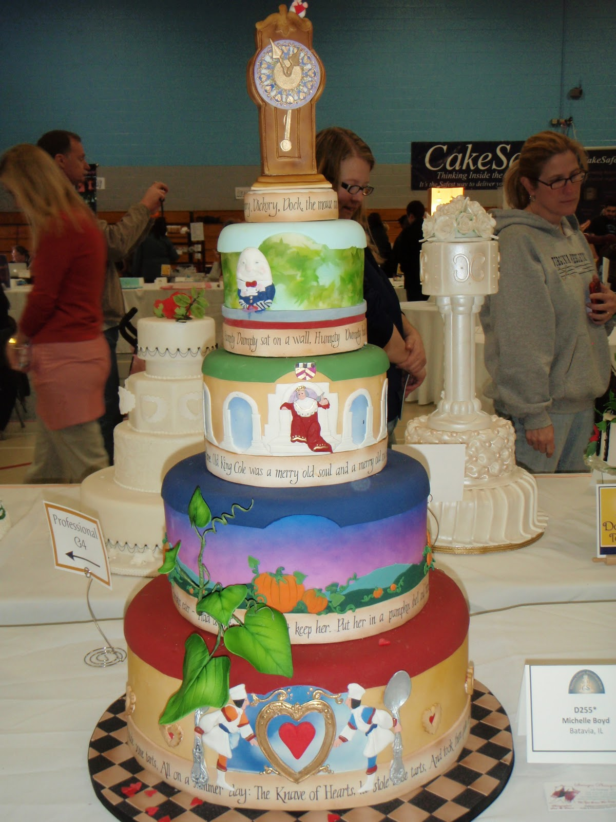 Cake Design Competition Show : Sweet Eats Cakes: National Capital Area Cake Show