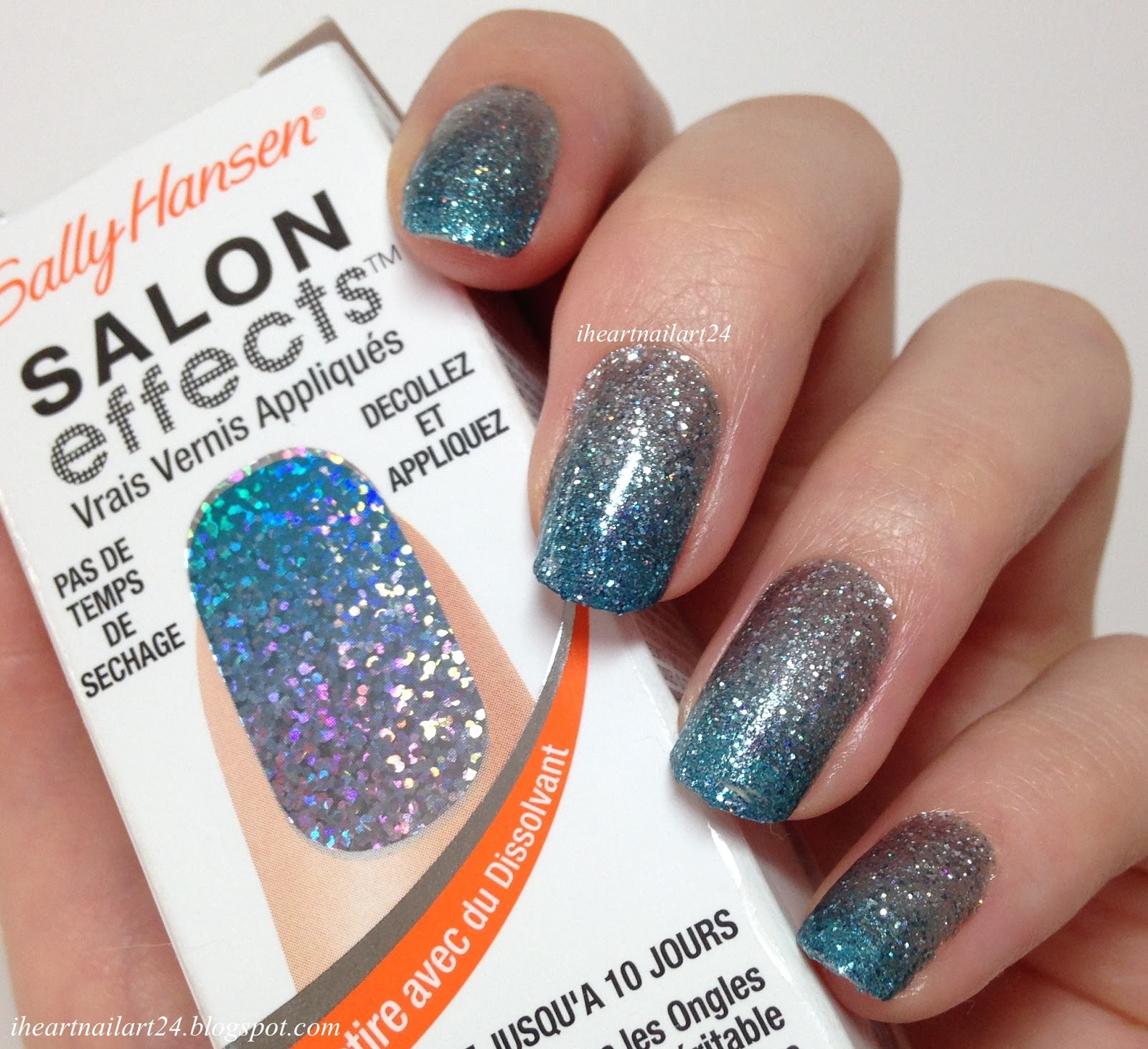 Sally Hansen Salon Effects Real Nail Polish Strips Review | I Heart ...