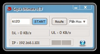 Inject Telkomsel Sepia Ultimate v1.7 21 Desember 2014