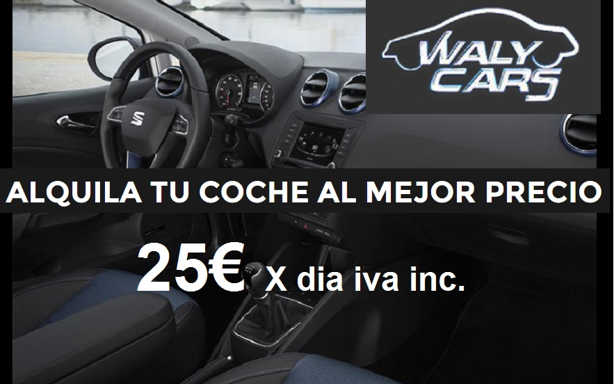 Waly cars alquiler de coches Torrevieja