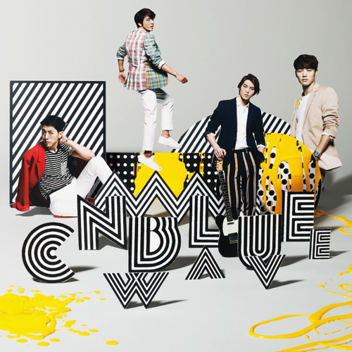 CNBLUE WAVE Limited Edition B Cover