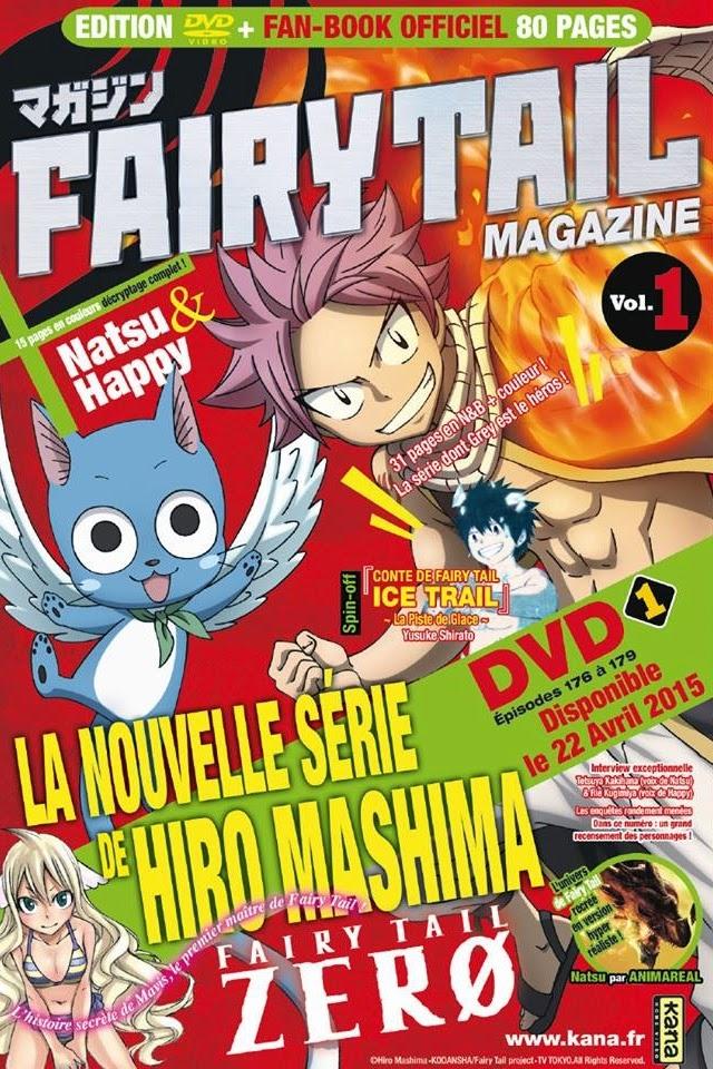 Actu Manga, Fairy Tail, Fairy Tail Ice Trail, Fairy Tail Magazine, Fairy Tail Zero, Hiro Mashima, Kana, Manga,