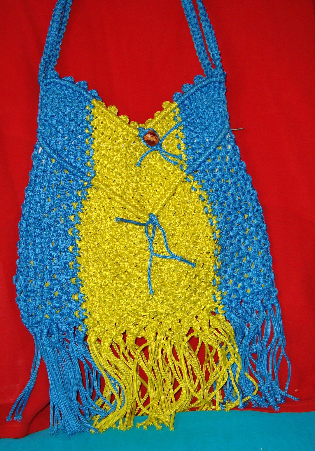 Macrame Cord Bags Pratibha Art Amp Craft