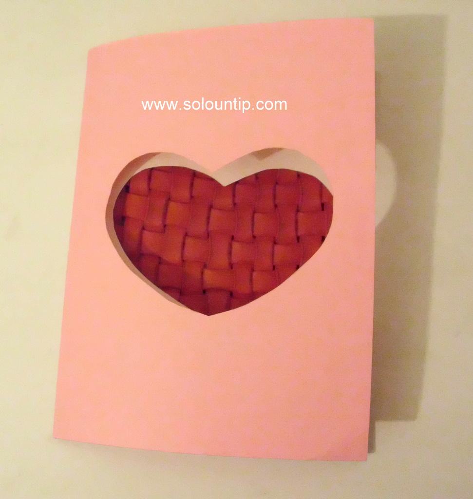 Tarjeta De San Valent  N Manualidades