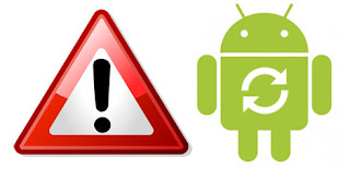 android error, android rusak, android blank