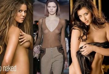 15 Near-nude images of the Kardashian clan