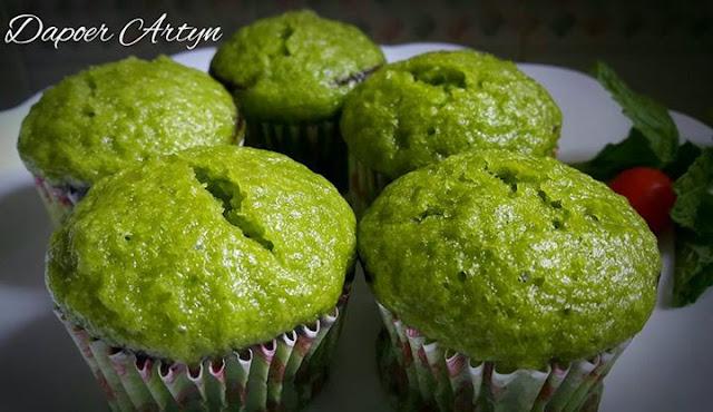 Resep bolu kukus sawi hijau yang enak dan lembut