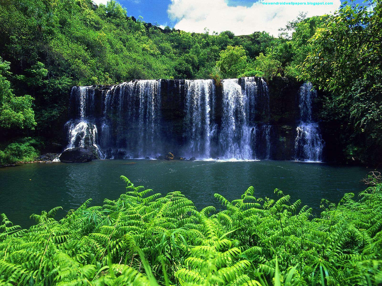 download free waterfall wallpapers for android