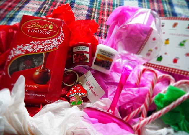 Secret Santa presents