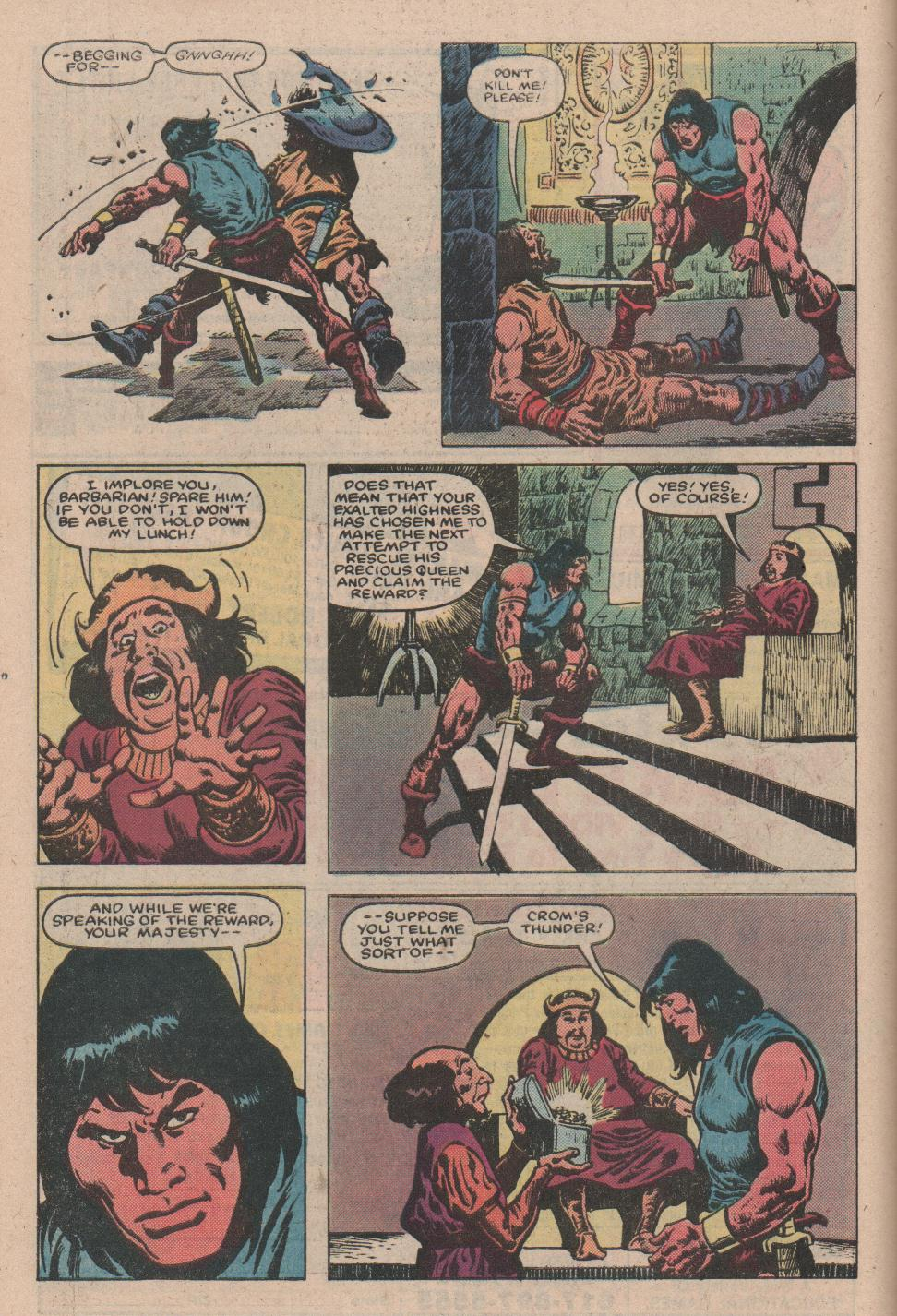 Conan the Barbarian (1970) Issue #157 #169 - English 7