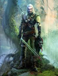 Geralt de Rivia brujo - Juego de Tronos en los siete reinos