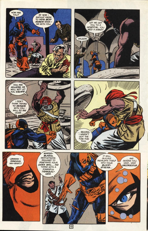 Deathstroke (1991) Issue #31 #36 - English 16